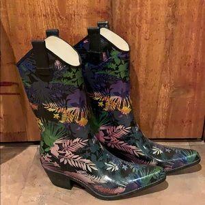 Corkys cowgirl rain boots